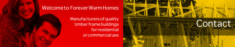 Contact - Manufacturers of timber frame residential and commercial buildings